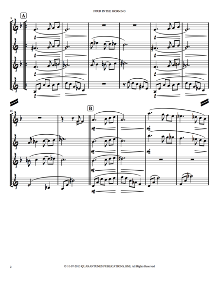 FOUR IN THE MORNING Score and Parts copy 2