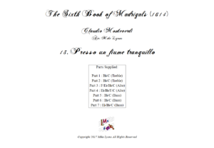 Flexi Quintet – Monteverdi, 6th Book of Madrigals (1614) – 13. Presso un fiume tranquillo