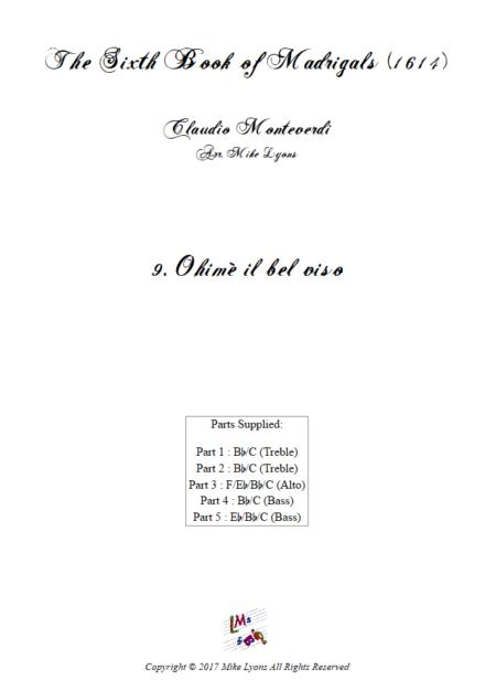 Madrigals Book 6 09