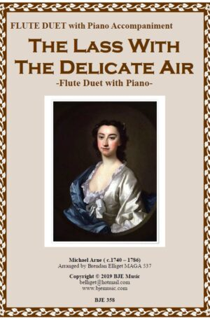 The Lass with the Delicate Air – Flute Duet and Piano