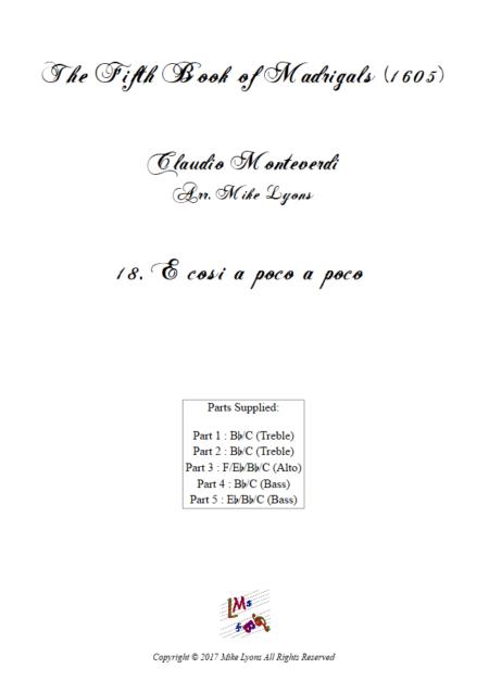 Madrigals Book 5 18
