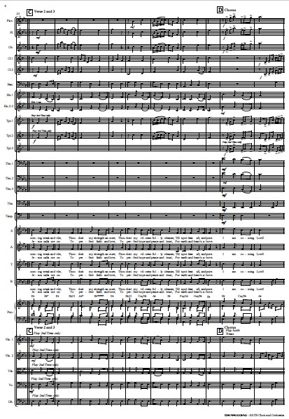 214 Gwahoddiad SATB Choir and Orchestra SAMPLE page 04