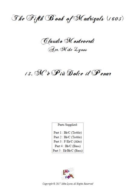 Madrigals Book 5 13