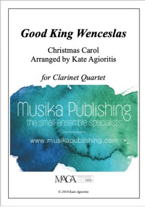 Good King Wenceslas – for Clarinet Quartet