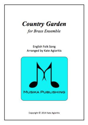 Country Garden – Jazz Arrangement for Brass Ensemble