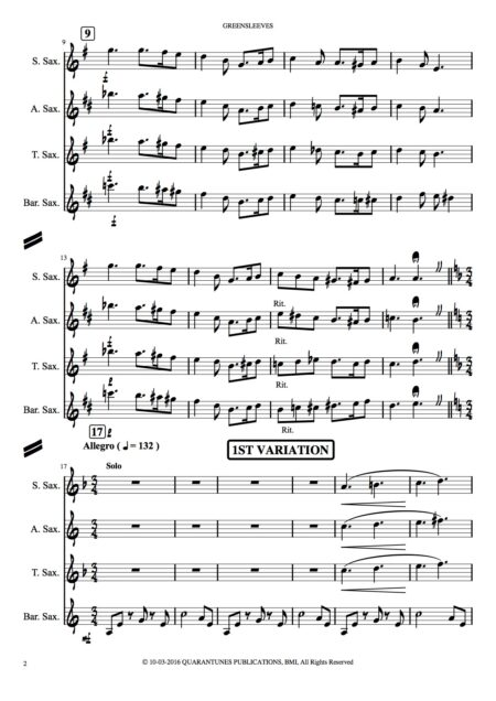 Greensleeves Score and Parts copy 2