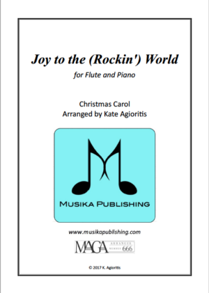 Joy to the (Rockin') World – for Flute and Piano