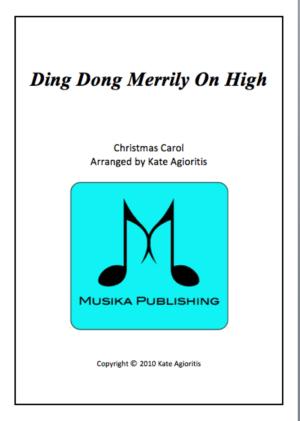 Ding Dong Merrily on High – Jazz Carol for Brass Quartet