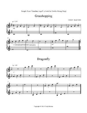 Guardian Angel, 28 original solos for Double-Strung Harp