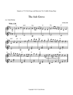 24 Folk Songs for Double-Strung Harp