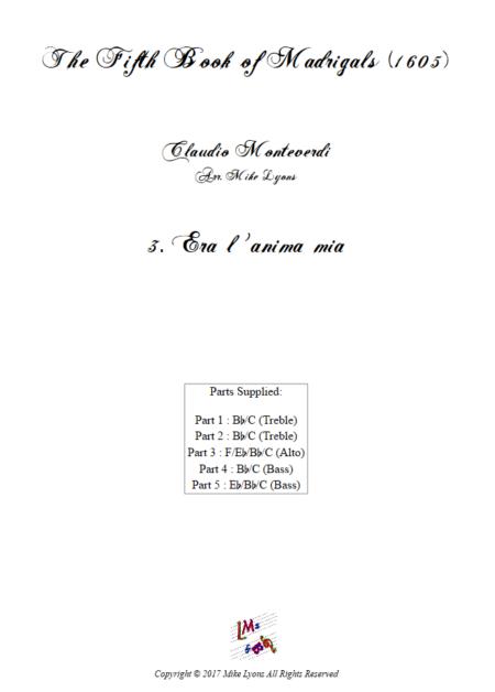 Madrigals Book 5 03