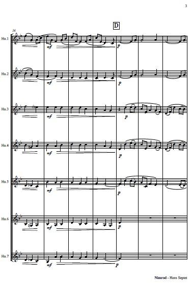 461 Nimrod Horn Septet SAMPLE page 03