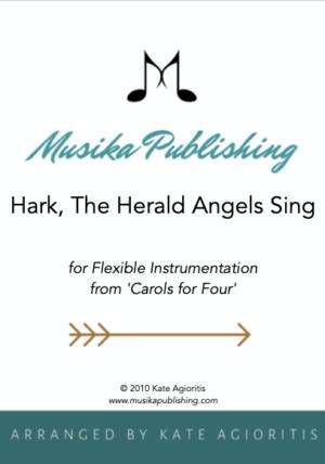 Hark the Herald Angels Sing – Flexible Instrumentation