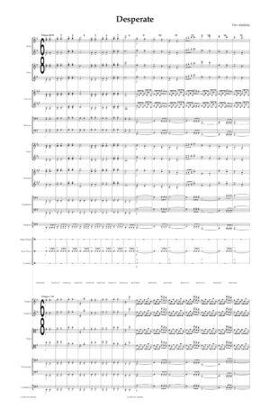 Desperate (for Full Orchestra)