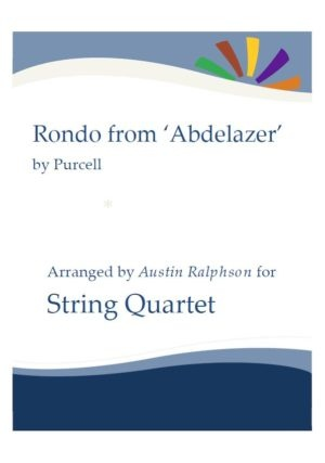 Rondo from The Abdelazer Suite – string quartet
