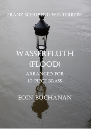 Winterreise: Wasserfluth (Flood) for 10 piece brass