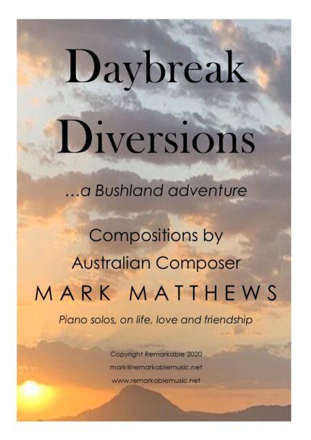 Daybreak diversions Mark Matthews Cover