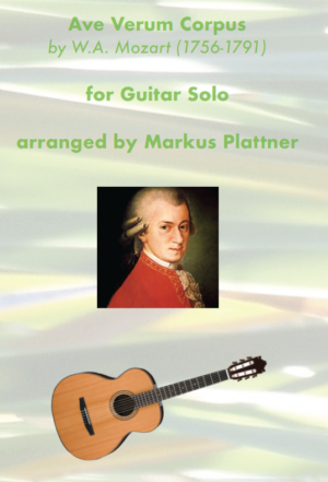 Ave Verum Corpus (Mozart) – for Guitar Solo