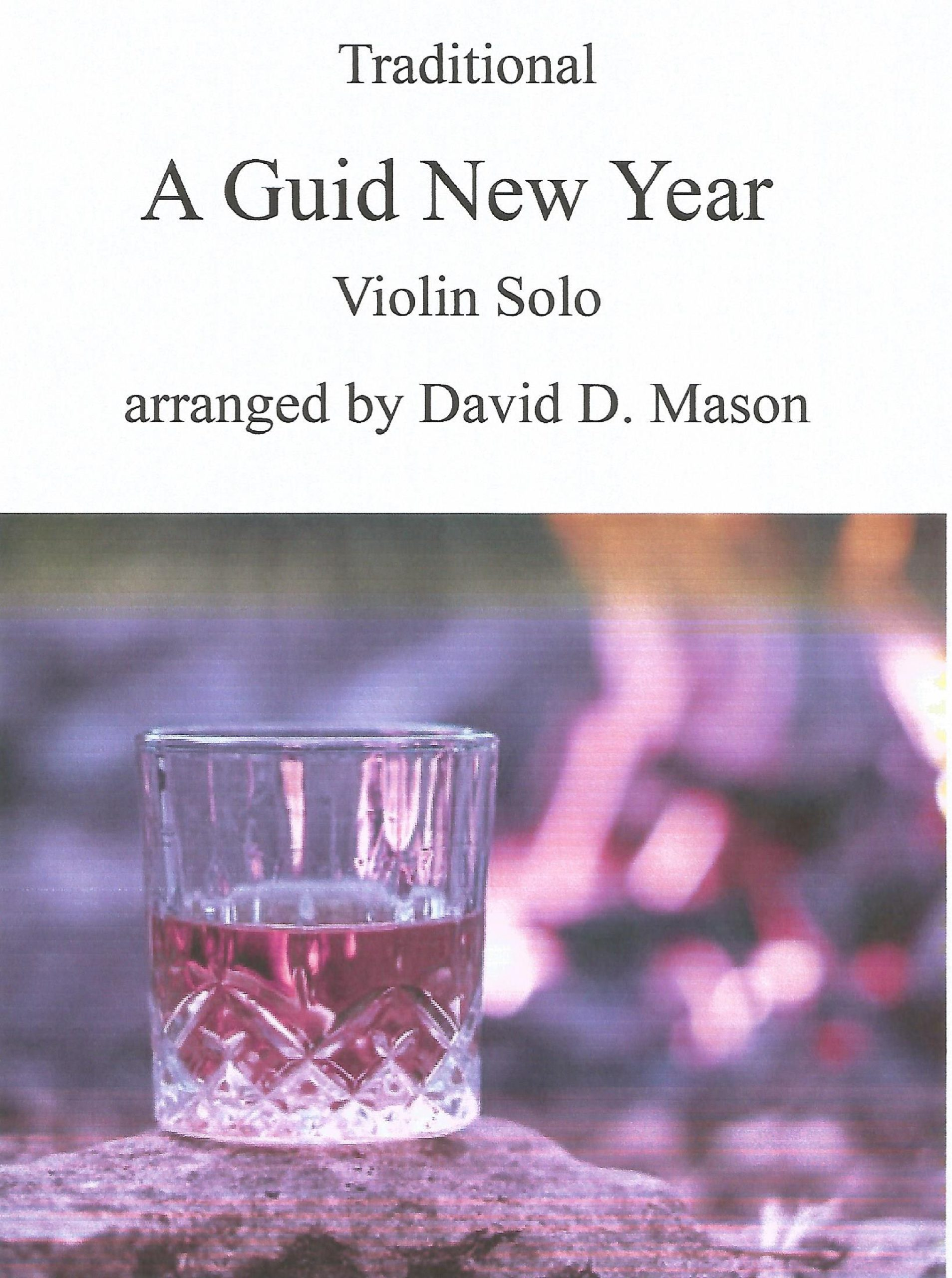 A Guid New Year – Violin Solo with Piano accompaniment