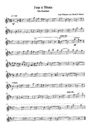 Fear a' Bhata – Violin Solo