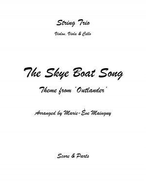 The Skye Boat Song – String Trio