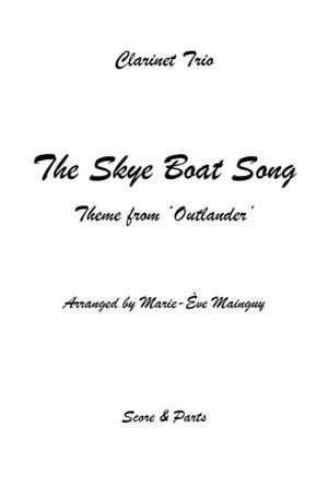 The Skye Boat Song – Clarinet Trio