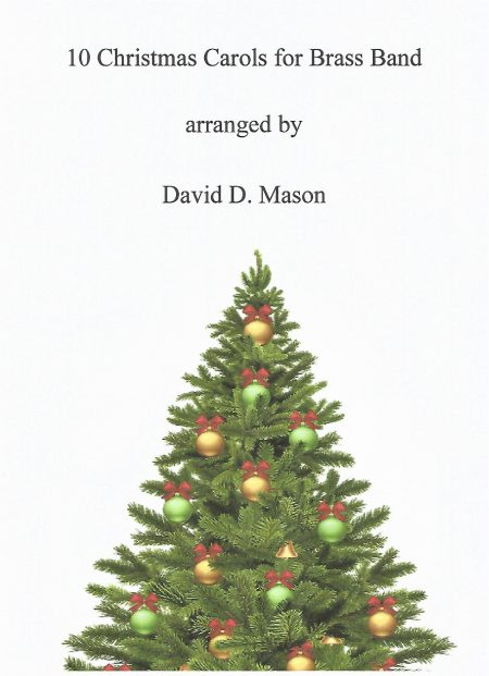 10 Christmas Carols for Brass Band Front Cover scaled