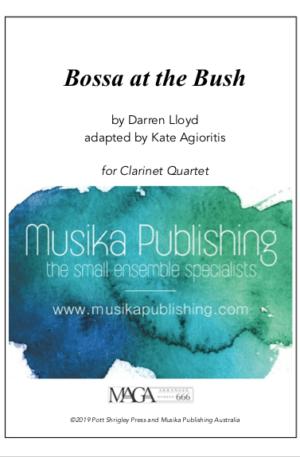 Bossa at the Bush – Clarinet Quartet