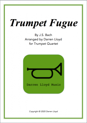 Trumpet Fugue – for Trumpet Quartet