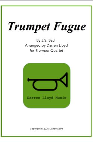 Trumpet Fugue – for Trumpet Quartet