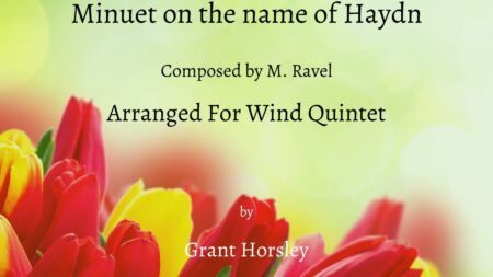Minuet on the name of Haydn