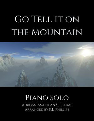 Go Tell It on the Mountain – Piano Solo