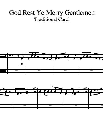 God Rest Ye Merry Gentlemen Harp 1 360x404 1