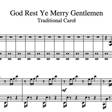 God Rest Ye Merry Gentlemen Harp 2 360x361 1