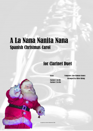A La Nana Nanita Nana for 2 Clarinets