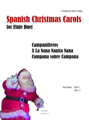 Spanish Christmas Carols for 2 Flutes