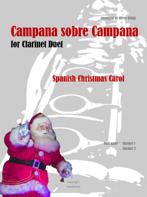 Campana Sobre Campana for 2 Clarinets