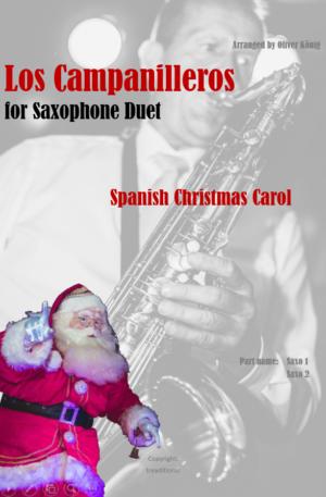 Los Campanilleros for 2 Saxophones