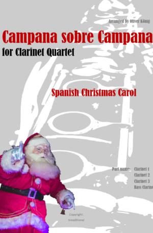 Campana Sobre Campana for 4 Clarinets