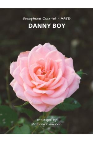 DANNY BOY – saxophone quartet (AATB)