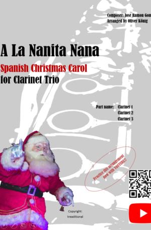 A La Nanita Nana for 3 Clarinets