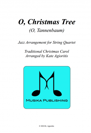O Christmas Tree – Jazz Carol for String Quartet