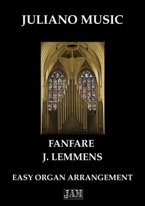 FANFARE (EASY ORGAN – C VERSION) – J. LEMMENS