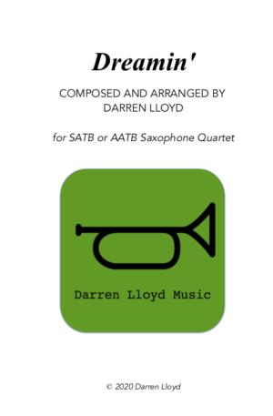Dreamin' – Saxophone Quartet (SATB or AATB)