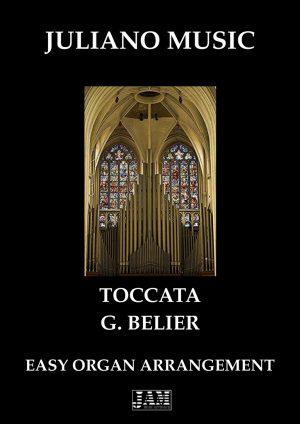 TOCCATA (EASY ORGAN – C VERSION) – G. BELIER
