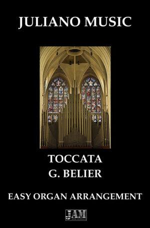 TOCCATA (EASY ORGAN – C VERSION) – G. BELIER