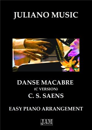 THEME FROM DANSE MACABRE (EASY PIANO – C VERSION) – C. S. SAENS