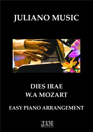THEME FROM DIES IRAE (EASY PIANO – C VERSION) – W. A. MOZART