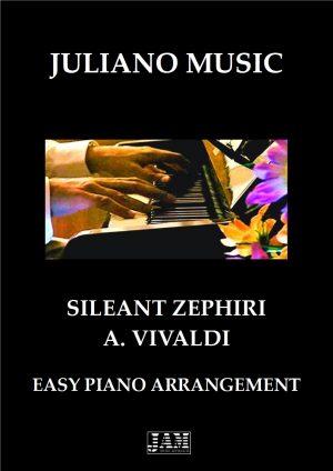 SILEANT ZEPHIRI (EASY PIANO – C VERSION) – A. VIVALDI