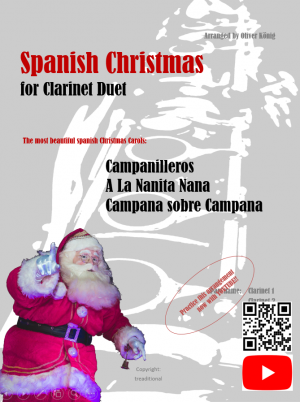 Spanish Christmas for 2 Clarinets